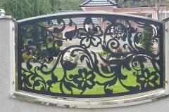 CNC alu inox ograda Manastirica